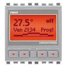 Vimar 20445.N - Cronotermostato Giornaliero/Settimanale - Eikon