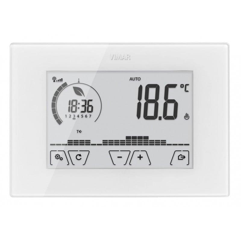 VIMAR 02911 - Cronotermostato touch WiFi parete bianco