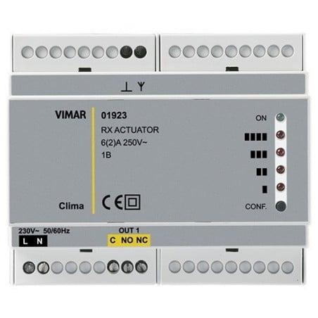Vimar 01923 - Attuatore e ricevitore caldaia - RF 1 canale