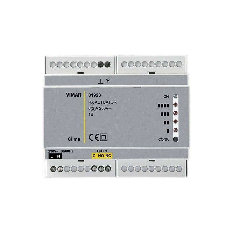 Vimar 01923 Attuatore/ricevitore RF 1 canale