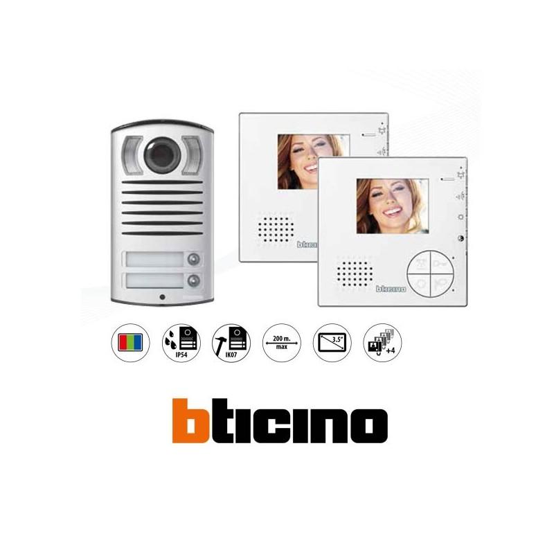 Bticino 365521 - Kit Videocitofono Bifamiliare