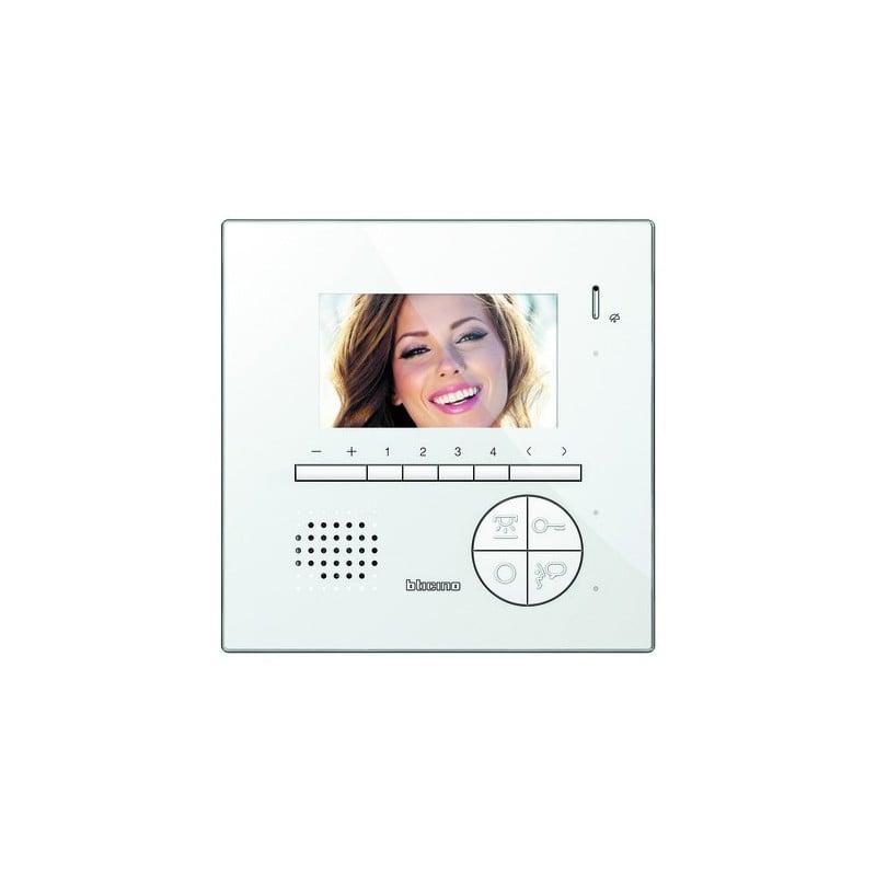 videocitofono monitor video classe 100, bianco espandibile, miglior prezzo online
