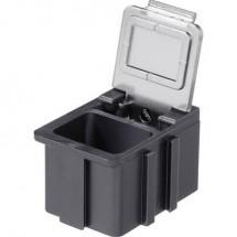 Scatola per componenti SMD ESD (L x L x A) 16 x 12 x 15 mm conduttivo Licefa