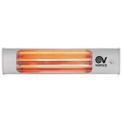 Lampada Infrarossi per Riscaldamento al Quarzo 1800W Vortice Thermologika Certificata IMQ e CE Dimensioni 54 x 11.8 x 12.7 cm