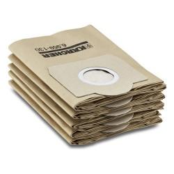 Filtro di carta Kit da 5 Kärcher 6.959-130.0 1 pz.