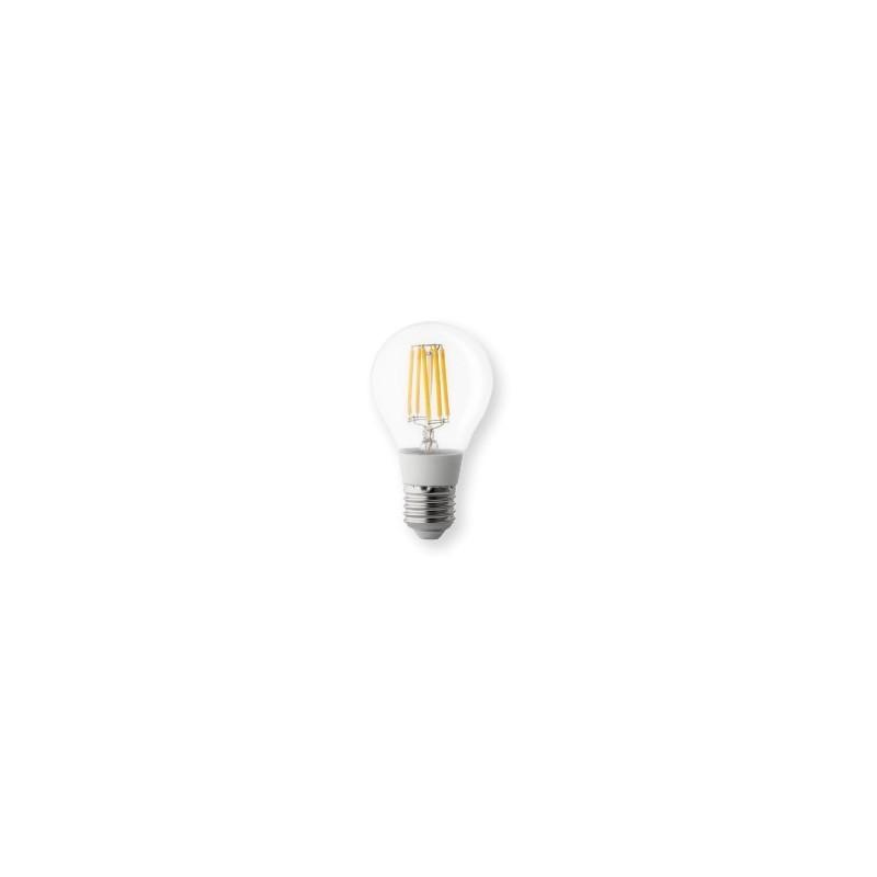 Lampadina led goccia 8w e27 luce calda resa 60w wiva for Lampadine al led luce calda