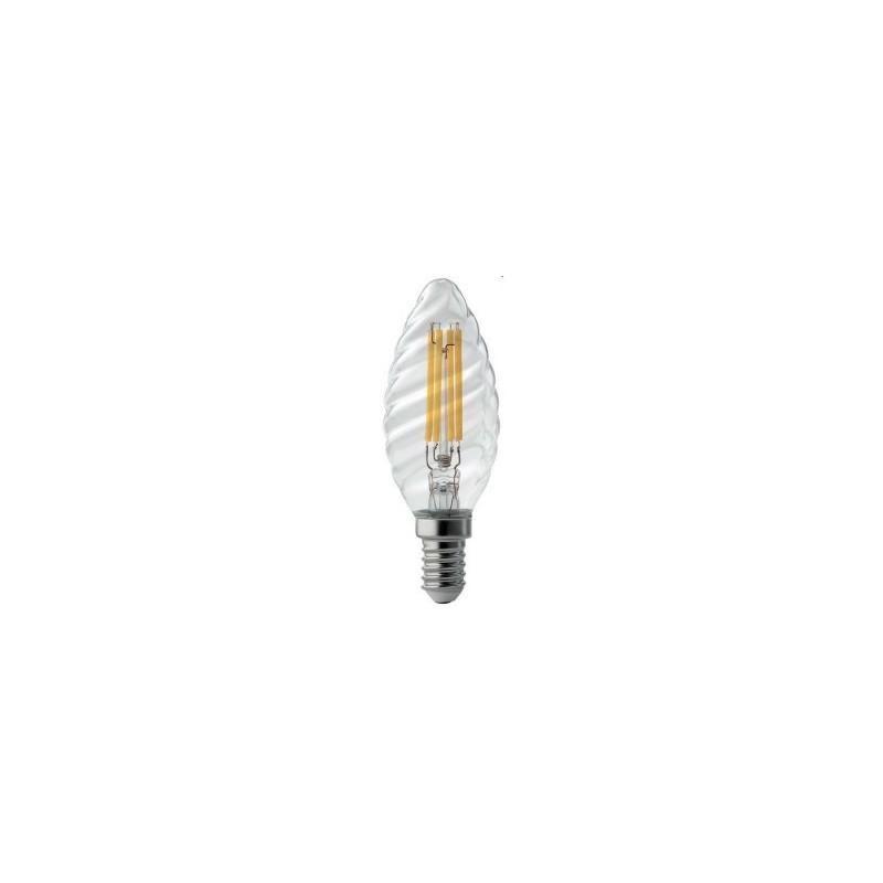 Lampada Led tortiglione 4W wiva luce calda