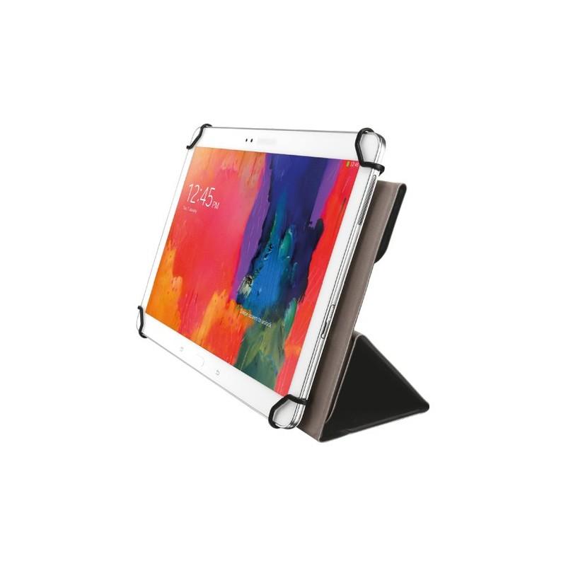 Custodia per tablet universale Trust Custodia a libro Adatto per display con misura (area): 25,7 cm (10,1) Nero