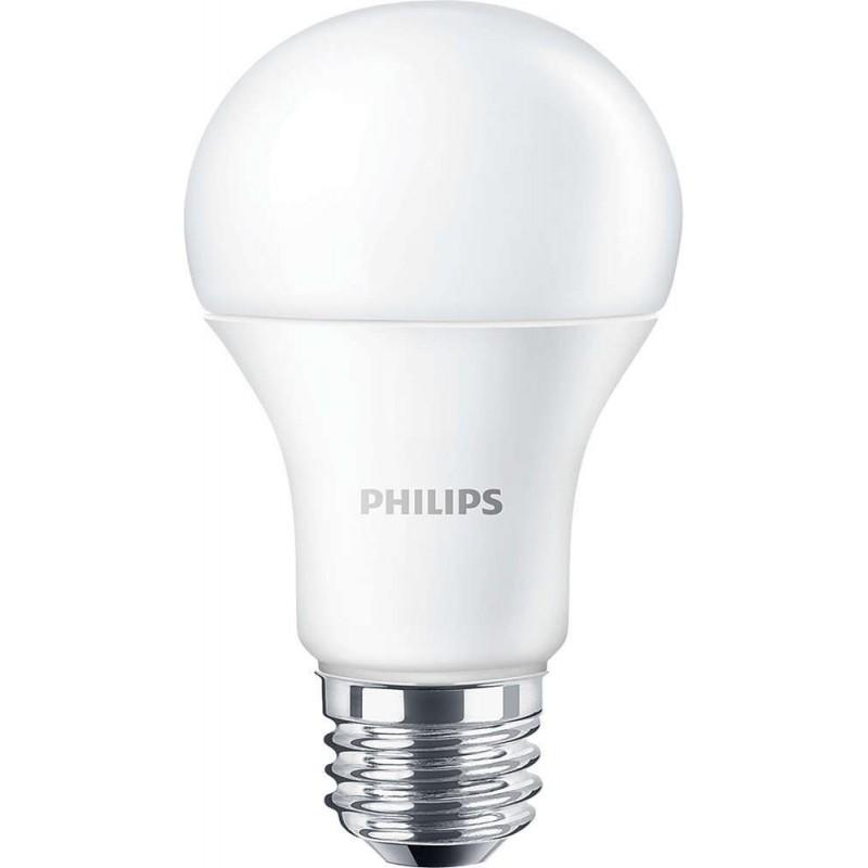 Lampadine Led E27 Luce Fredda.Lampada Led Philips Corepro Ledbulb 9 5w 60w E27 840 Luce Fredda
