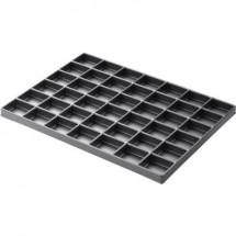 Inserto per cassetto SMD ESD (L x L x A) 261 x 236 x 20 mm conduttivo Licefa Inserto per cassetto