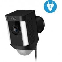 ring Spotlight-Cam 8SH1P7-BEU0 WLAN IP Classe energetica: C (A++ - E) Videocamera di sorveglianza 1920 x 1080 Pixel