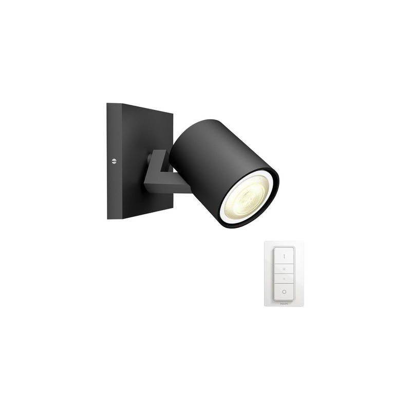 Faretto A Parete Philips Lighting Hue Runner Gu10 5.5 W Bianco Neutro