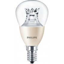 Lampadina a Led E14 Philips MAS LED lustre DT 4-25W P48 CL
