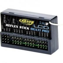 Ricevitore a 14 canali Carson Modellsport Reflex Stick Multi Pro LCD 2,4 GHz