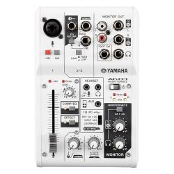 Yamaha AG03 Mixer DJ Numero canali:3 Collegamento USB