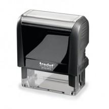 Trodat Timbri testuali 44086 Nero 58 x 22 mm (L x A)