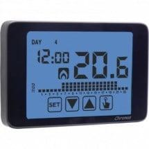 Cronotermostato Vemer Chronos Settimanale Touch Screen a Batteria