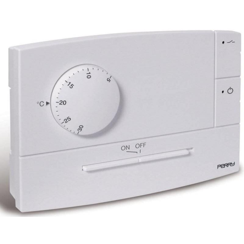 Termostato universale perry zefiro a incasso 230v for Perry termostato wifi