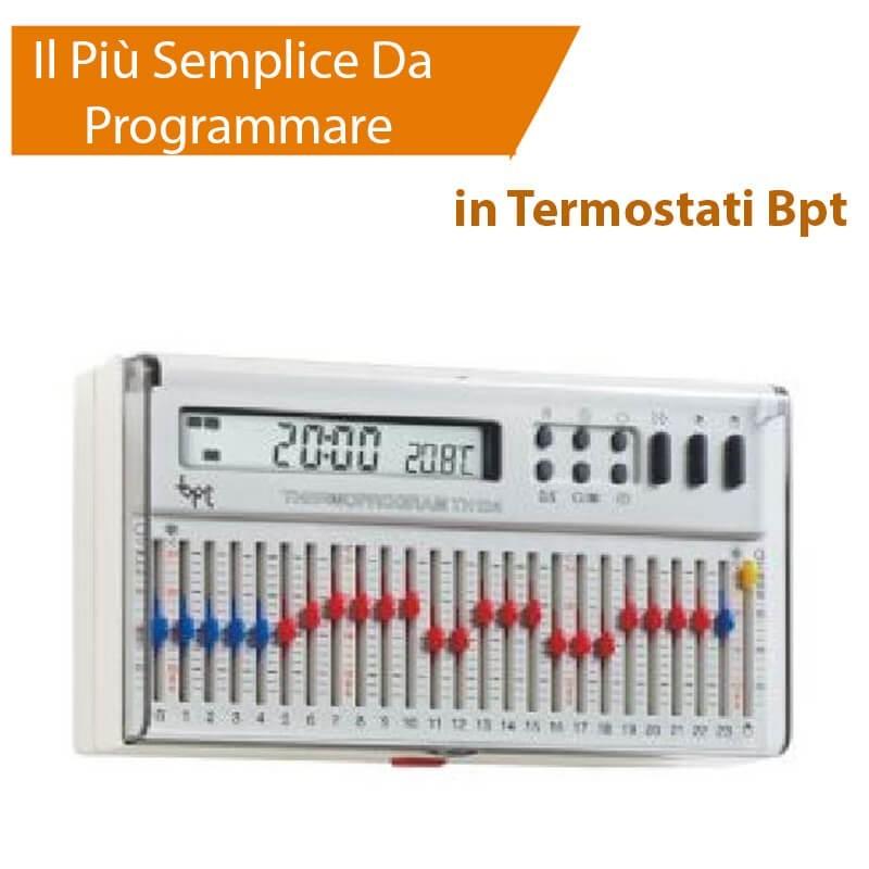 bpt th 124 cronotermostato giornaliero thermoprogram