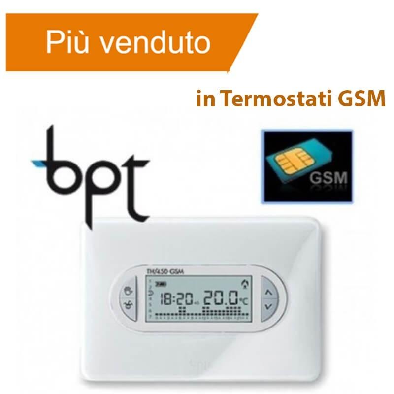 Bpt Th 450 Gsm - Cronotermostato Con Sim - Settimanale