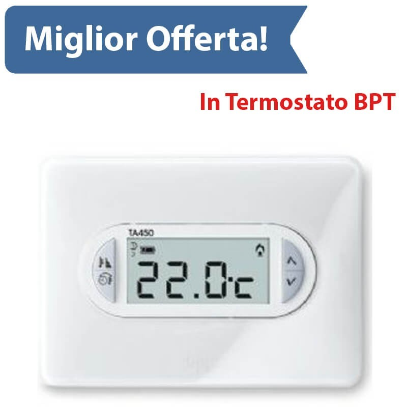 Bpt Ta 450 - Termostato Digitale - Batterie