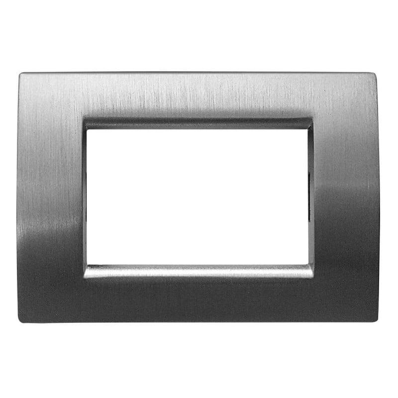 serie civile compatibile con vimar idea verniciata in cromo materiale metallo lucido