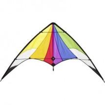 Aquilone acrobatico Ecoline Orion Rainbow Larghezza estensione 1200 mm Intensità forza del vento 3 - 5 bft