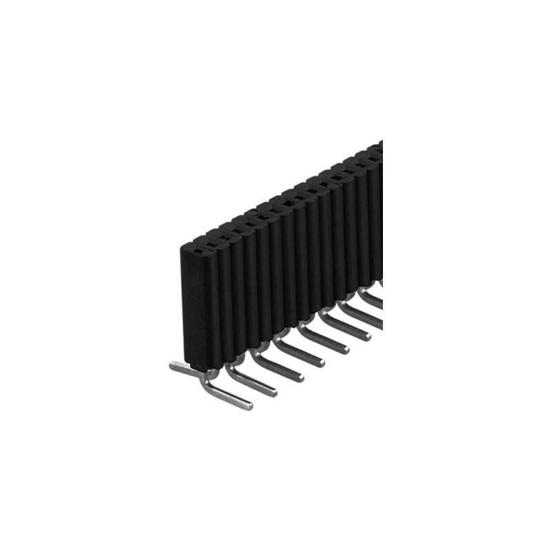 Fischer Elektronik Connettore femmina (standard) Numero di righe: 1 Poli per fila: 20 BLM 1 SMD/ 20/Z 1 pz.