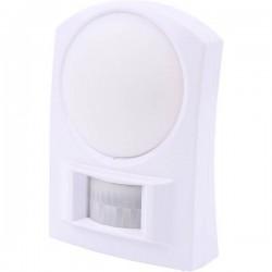 Olymp 5980 BL 100 Lampada da muro con rilevatore di movimento Bianco Bianco