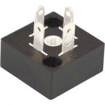 Connettore per valvole BP Nero BP1N03000 Poli:3 + PE HTP Contenuto: 1 pz.