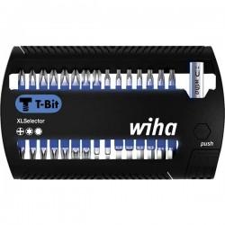 Wiha SB 7948T-999 XLSelector 41830 Kit inserti di avvitamento 31 parti Croce Phillips, Brugola interna, TORX Plus