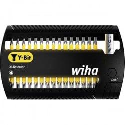 Wiha SB 7948Y-505 XLSelector 41833 Kit inserti di avvitamento 31 parti TORX Plus