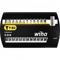 Wiha SB 7948Y-950 XLSelector 41834 Kit inserti di avvitamento 31 parti Croce Phillips, Croce Pozidriv, TORX Plus