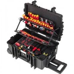 Wiha Competence XXL II 42069 Elettricisti Valigetta porta utensili con contenuto 115 parti (L x A x P) 440 x 625 x 280
