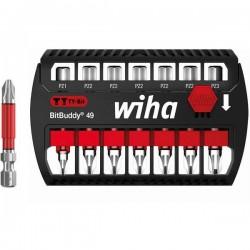 Wiha SB 7946TY-202 BitBuddy 49 42099 Kit inserti di avvitamento 7 parti