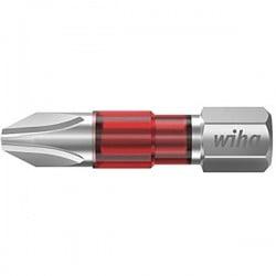 Wiha 7011TY TY-Bit PH2 x 29 mm Inserto di avvitamento Croce PH 2 Acciaio vanadio molibdeno temperato 5 pz.