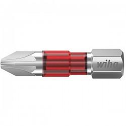 Wiha 7012TY TY-Bit PZ3 x 29 mm Inserto di avvitamento Croce PZ 3 Acciaio vanadio molibdeno temperato 5 pz.