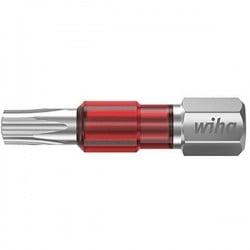 Wiha 7015TY TY-Bit T27 x 29 mm Inserto di avvitamento Torx T 27 Acciaio vanadio molibdeno temperato 5 pz.