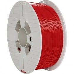 Verbatim 55030 Filamento per stampante 3D Plastica ABS 1.75 mm 1000 g Rosso