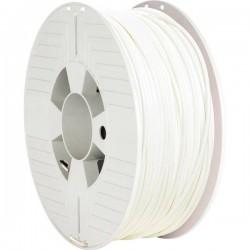 Verbatim 55034 Filamento per stampante 3D Plastica ABS 2.85 mm 1000 g Bianco