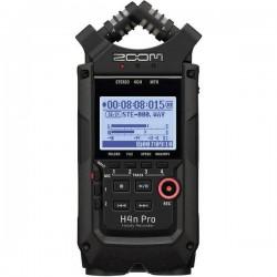 Registratore audio portatile Zoom H4nPro Nero