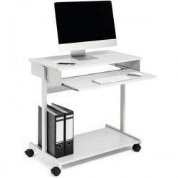 STAZIONE DI LAVORO PC DURABLE STANDARD 319710 Grigio (L x A x P) 750 x 750 x 450 mm