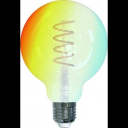 Müller-Licht tint Lampadina LED singola Globe Gold retro white+ambiance Classe energetica: A+ (A++ - E) GZ10 5.5 W RGB