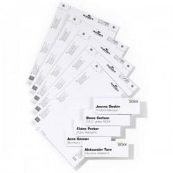 Durable Insegna della porta 485002 (L x A) 149 mm x 52.5 mm Bianco 485002