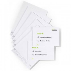 Durable Insegna della porta 485502 Bianco 485502