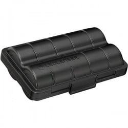 Ledlenser 2x 18650 +Batterybox Batteria ricaricabile speciale 18650 Li-Ion 3.6 V 3400 mAh