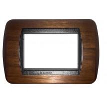 Placche in legno compatibili bticino living international 3 4 o 7 moduli
