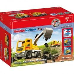 fischertechnik 554194 Easy Starter Trucks - Spielzeugbagger Kit esperimenti da 3 anni