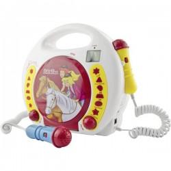X4 Tech Lettore CD per bambini CD, SD, USB incl. Microfono, incl. funzione karaoke