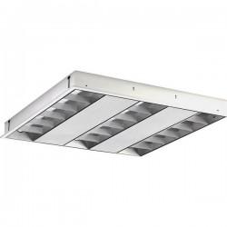 Plafoniera LED a griglia 40 W Bianco neutro Opple Performer D 140048690 Bianco
